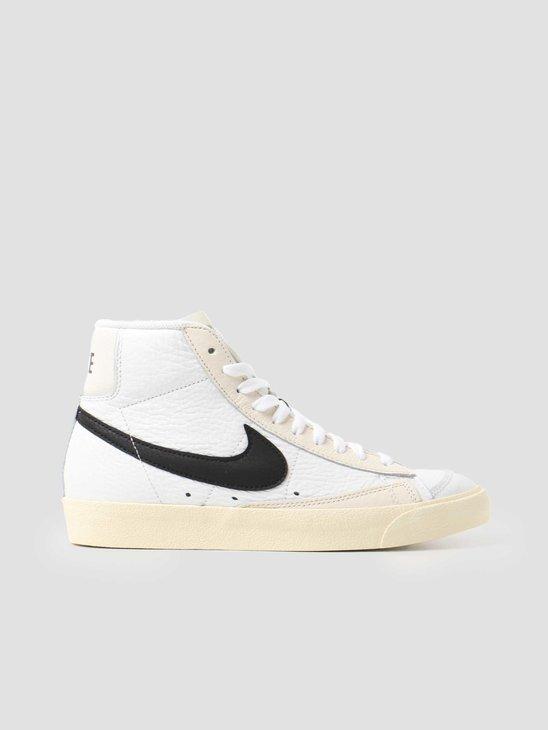 Nike Blazer Mid 77 Summit White Black Pale Ivory Beach DD6621-100