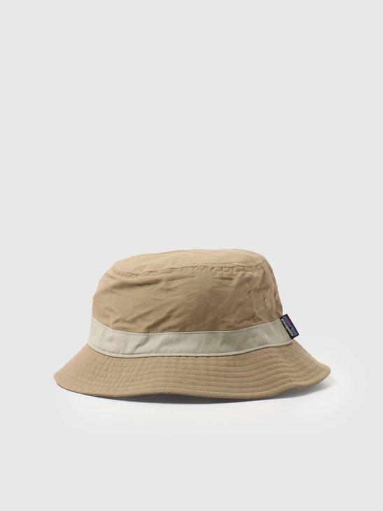 Patagonia Wavefarer Bucket Hat Ash Tan 29156