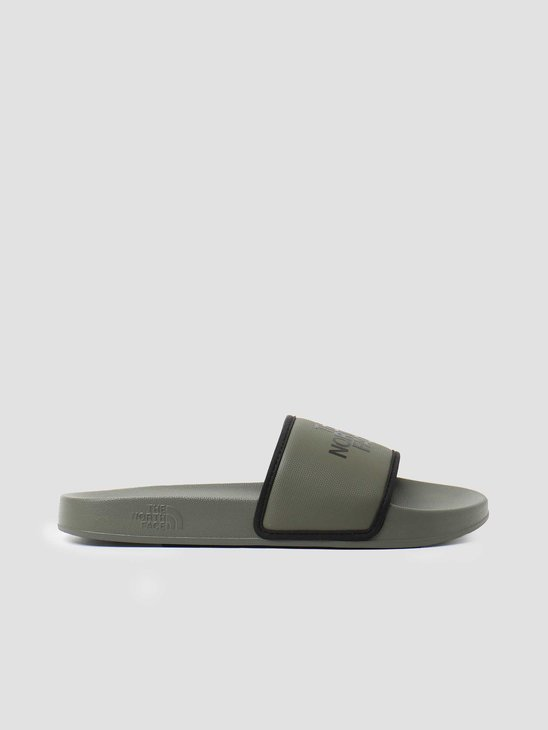 The North Face Base Camp Slide III Outdoor Sandal New Taupe Green Black NF0A4T2RBQW