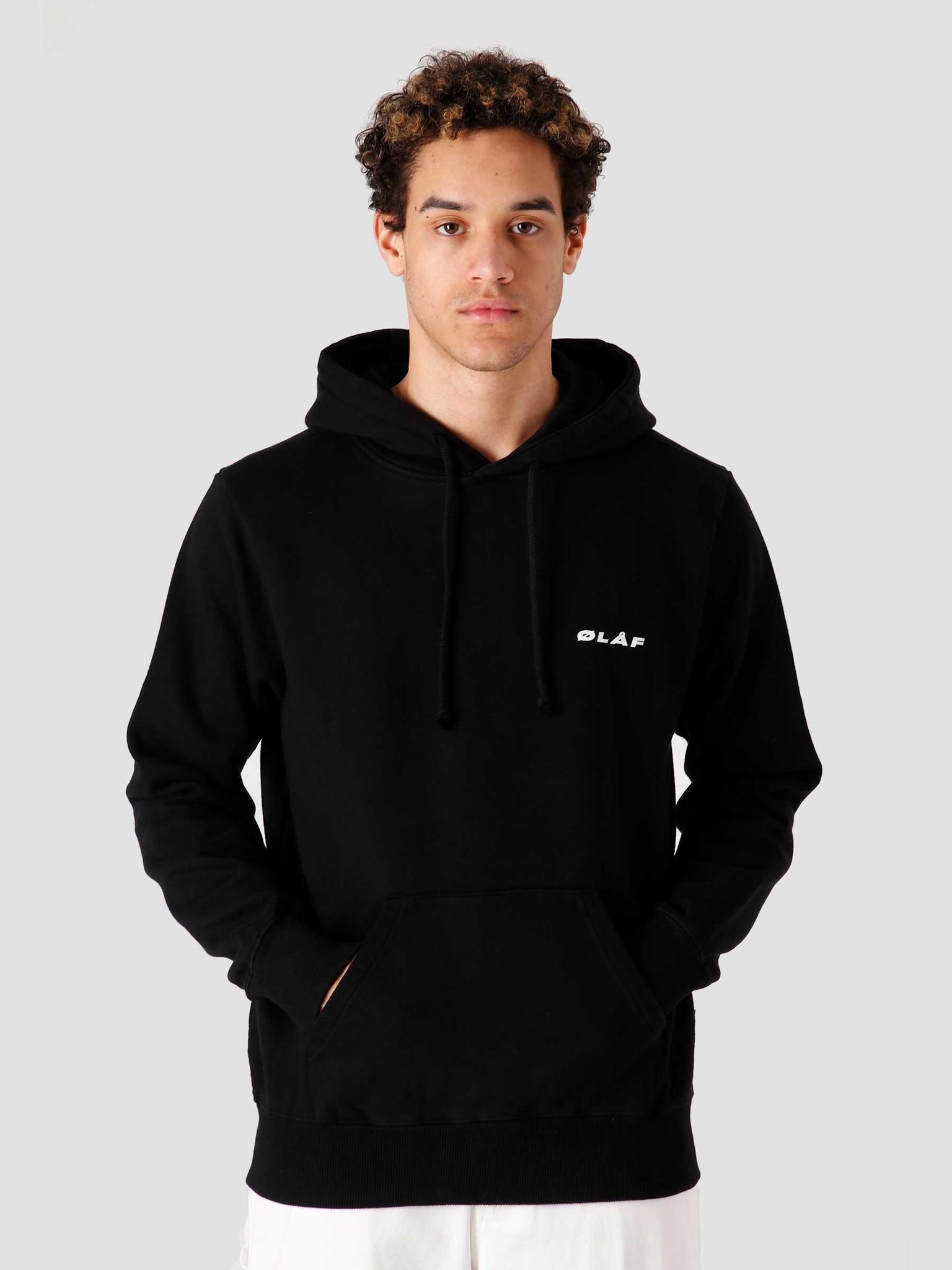 Olaf Hussein Olaf Hussein OH Uniform Hoodie Black