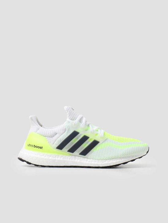 adidas Ultraboost 2.0 DNA Footwear White Coreblack Solar Yellow