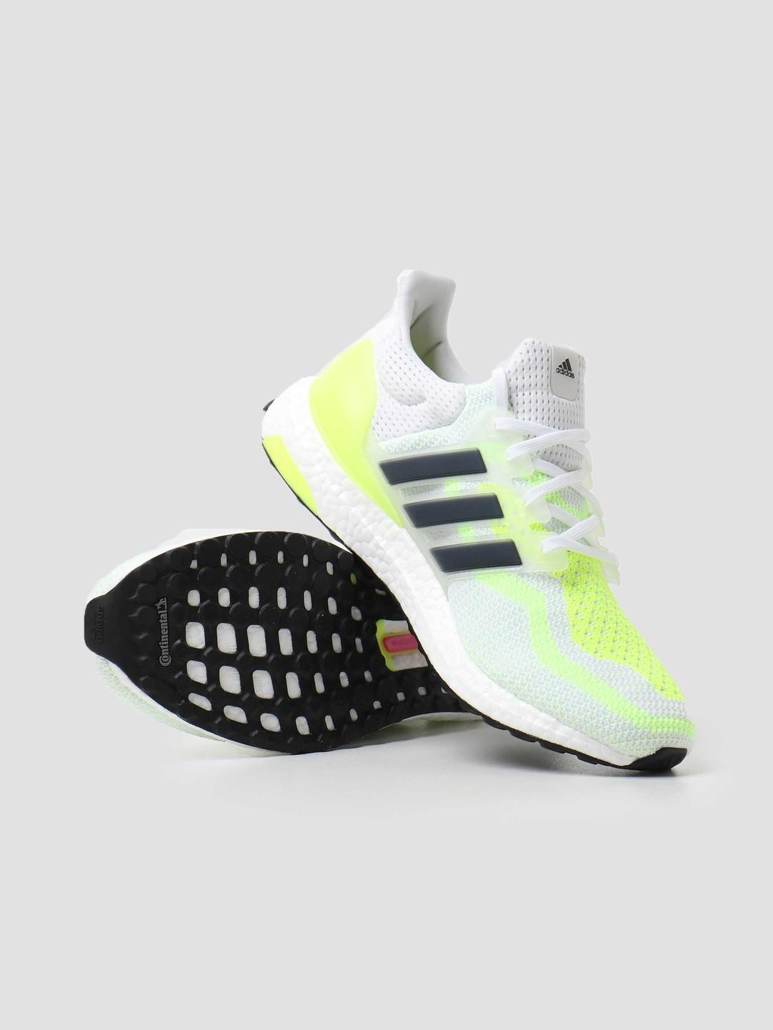 adidas adidas Ultraboost 2.0 DNA Footwear White Coreblack Solar Yellow