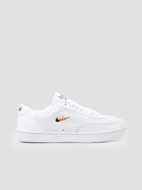 Nike Court Vintage Premium White Black-Total Orange CT1726-100