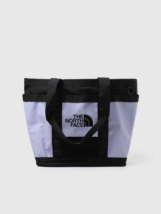 The North Face Explore Utility Tote Sweet Lavender Black NF0A3KZUYXH