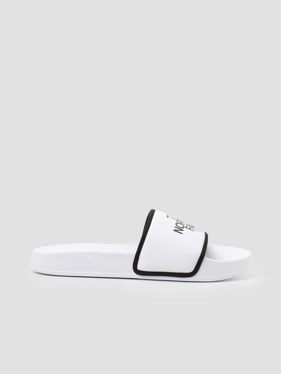 The North Face M Base Camp Slide III Outdoor Sandal White Black NF0A4T2RLA9