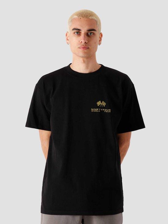 Ninetyfour NTF World Tour T-Shirt Black