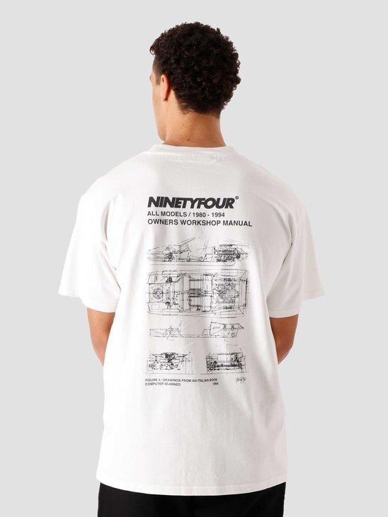 Ninetyfour NTF Workshop T-Shirt White