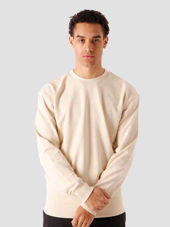 The North Face Campen Sweatshirt Bleached Sand NF0A4T11RB6