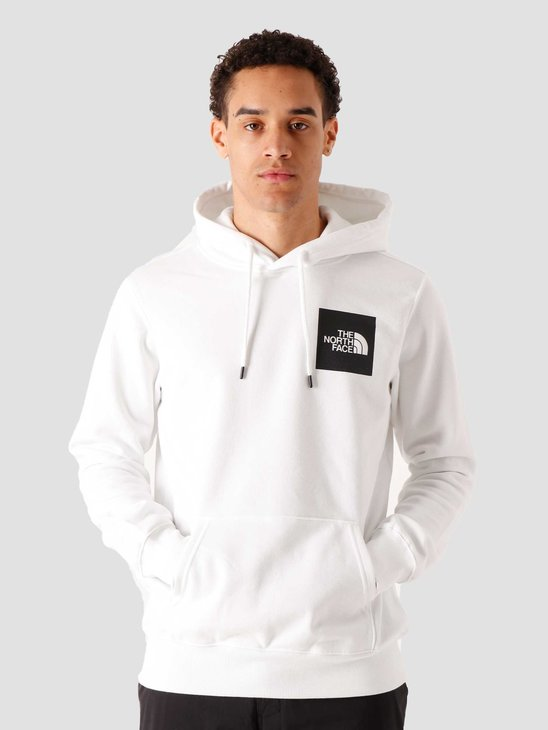 The North Face Fine Hoodie White NF0A55UVFN4