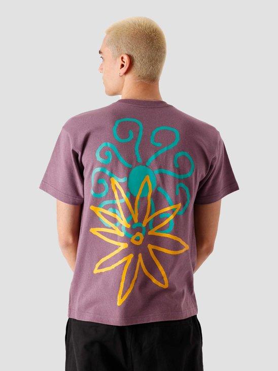 Obey Spring Time T-Shirt Mauve 167292639-MAV