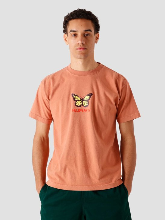 Obey Hell On Earth T-Shirt Pheasant 166912608-PHT