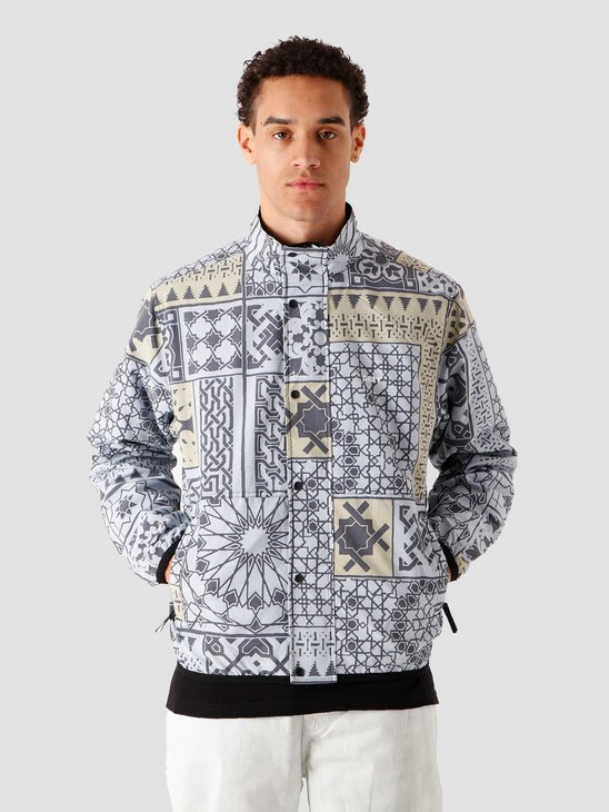 Obey Patchwork Reversible Jacket Bkm 121800462