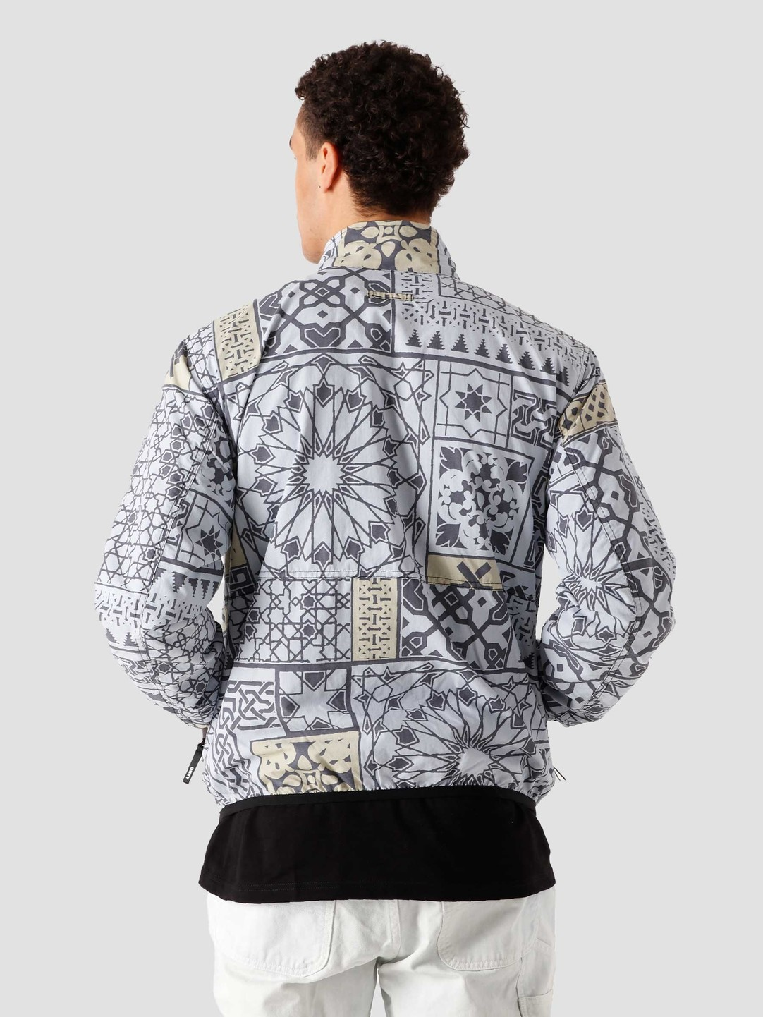 Obey Obey Patchwork Reversible Jacket Bkm 121800462