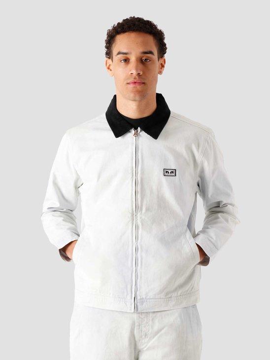 Obey Tie Dye Work Jacket Good Grey Multi 121800471-GYM