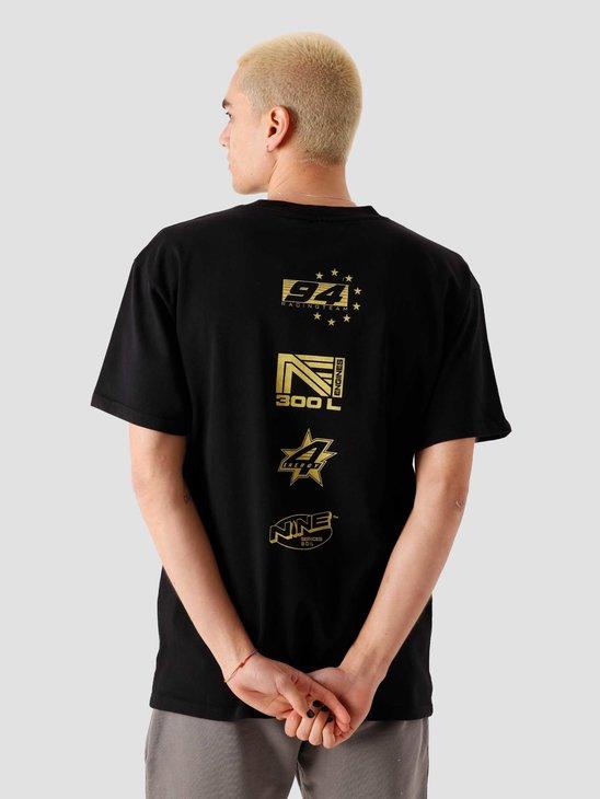 Ninetyfour NTF Engine T-Shirt Black