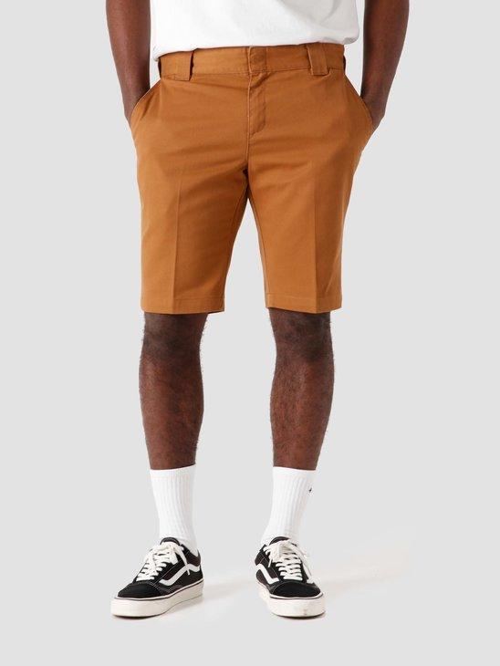 Dickies Slim Fit Short Brown Duck DK0A4XB1BD01