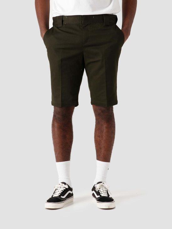 Dickies Slim Fit Short Olive Green DK0A4XB1OGX1
