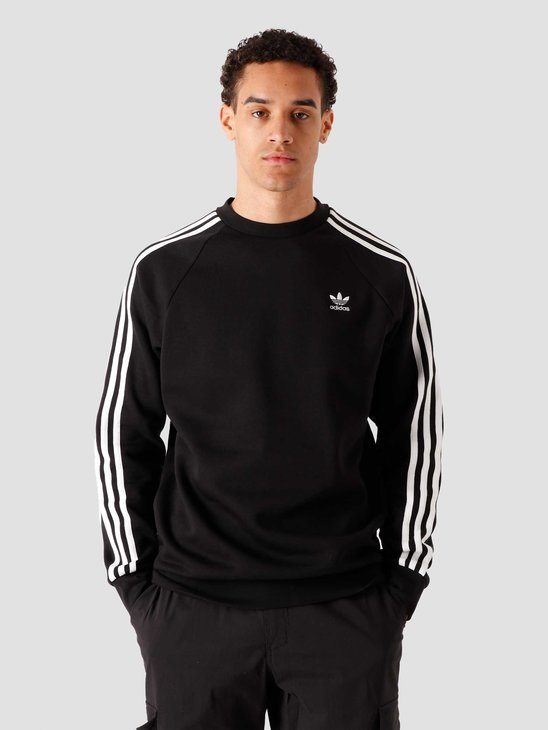 adidas 3 Stripes Crewneck Black GN3487