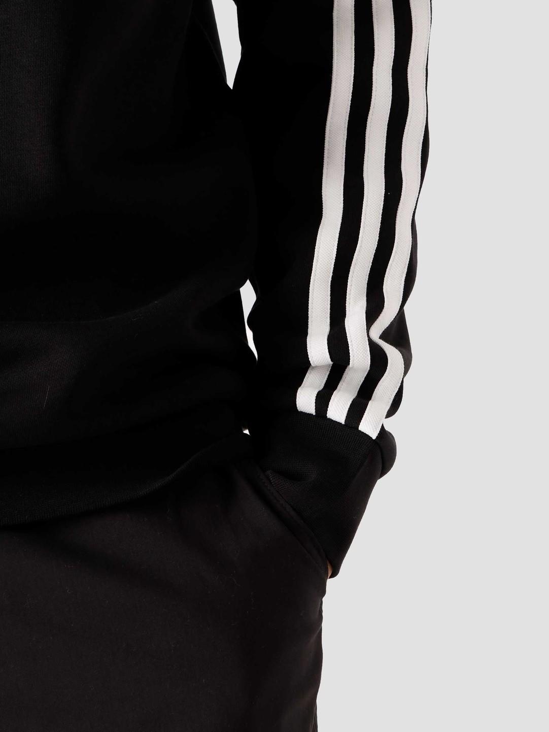 adidas adidas 3 Stripes Crewneck Black GN3487