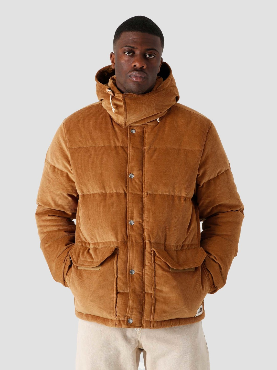 The North Face The North Face Sierra Down Corduroy Jacket Utility Brown