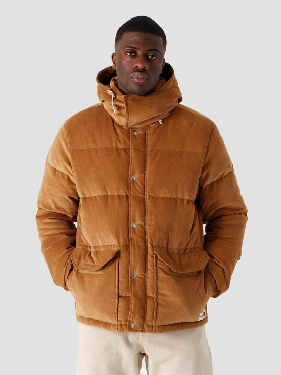 The North Face Sierra Down Corduroy Jacket Utility Brown