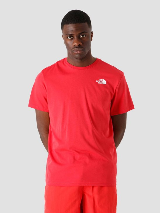 The North Face Redbox T-Shirt Rococco Red NF0A2TX2V34