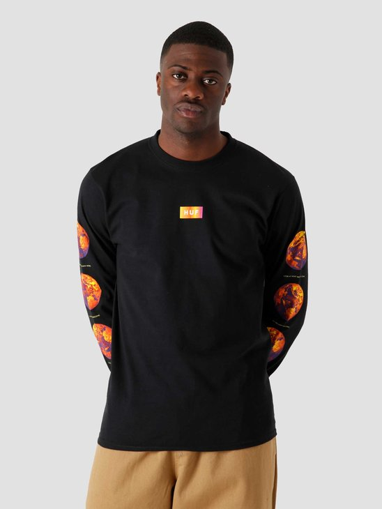 HUF Climate Meltdown T-Shirt Black TS01323