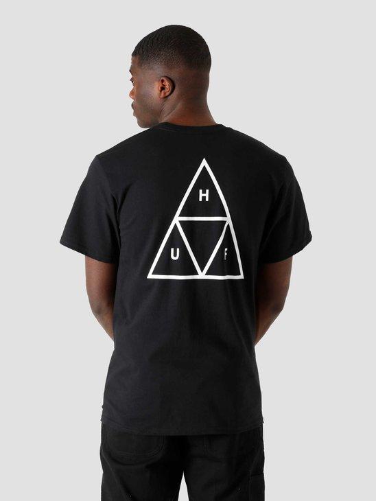 HUF Essentials TT T-Shirt Black TS00509
