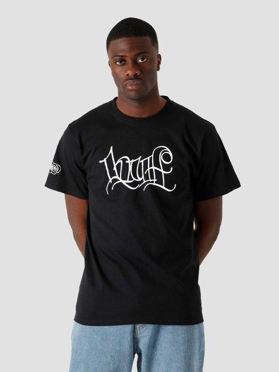 HUF Haze Handstyle 2 T-Shirt Black TS01382