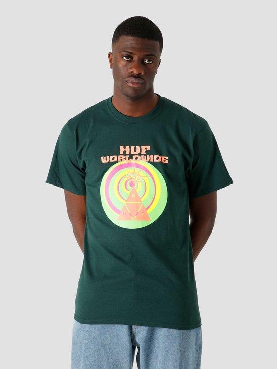HUF We Give You T-Shirt Dark Green TS01331