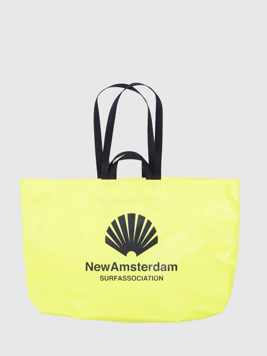 New Amsterdam Surf association Wetsuit Shopper Bag Neon 2021080