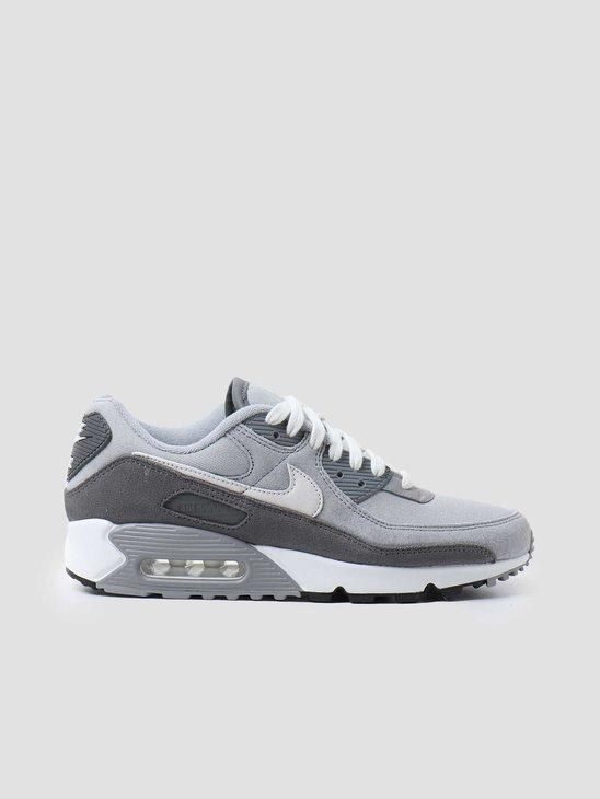 Nike Air Max 90 Premium Smoke Grey White Particle Grey DA1641-001