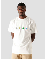 Olaf Hussein Olaf Hussein OH Chainstitch T-Shirt White SP21