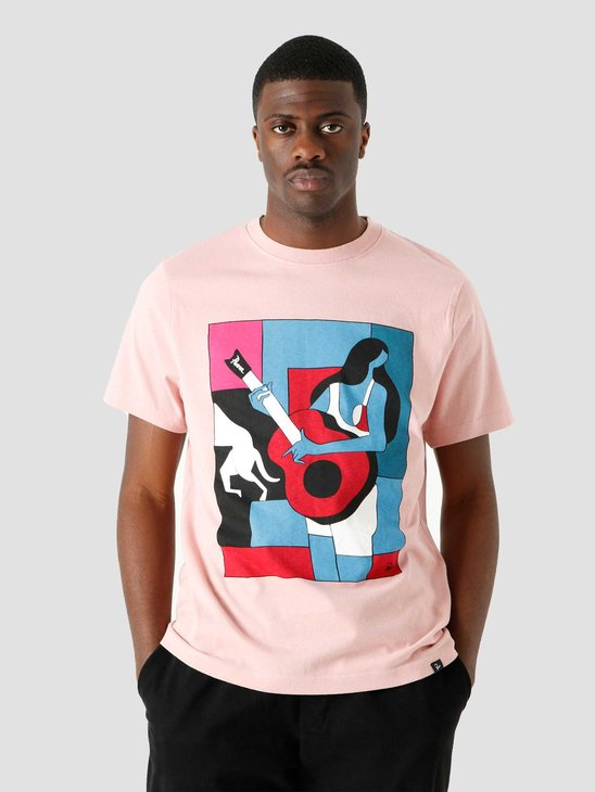 by Parra Cant Hardly Stand It T-Shirt Pink 45290