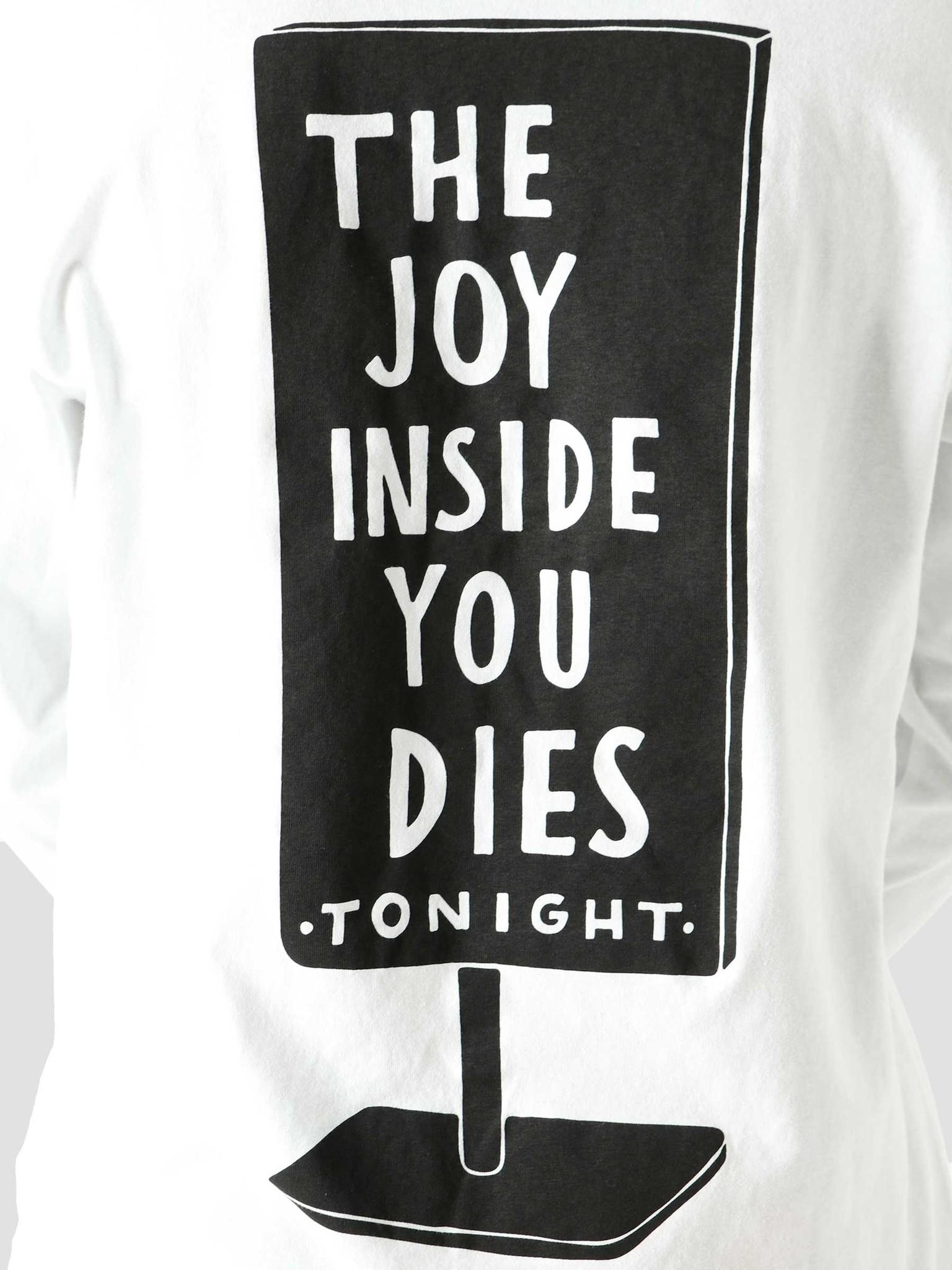 by Parra by Parra Joy Inside Longsleeve T-Shirt White 45330