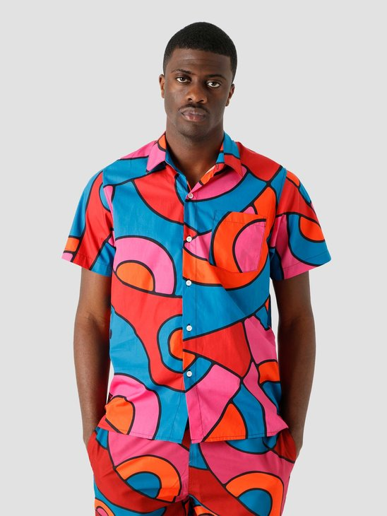 by Parra Serpent Pattern Shirt Multi 45360