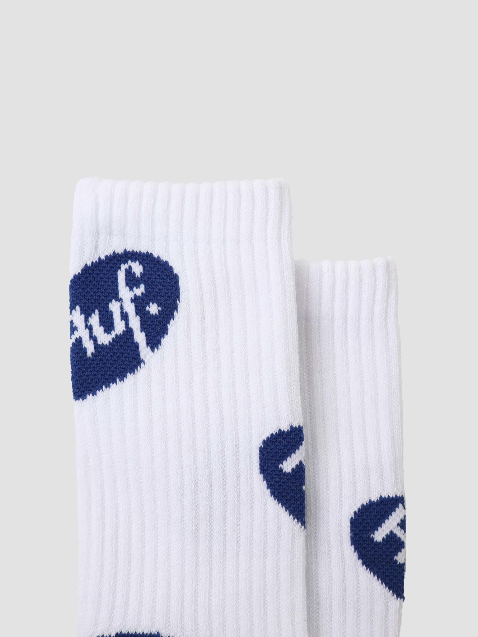 HUF HUF Relax Sock White SK00552