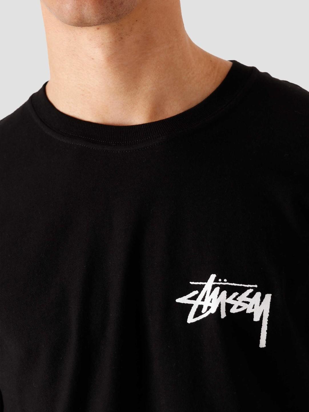 Stussy Stussy Peace Sign T-Shirt Black 1904662-0001