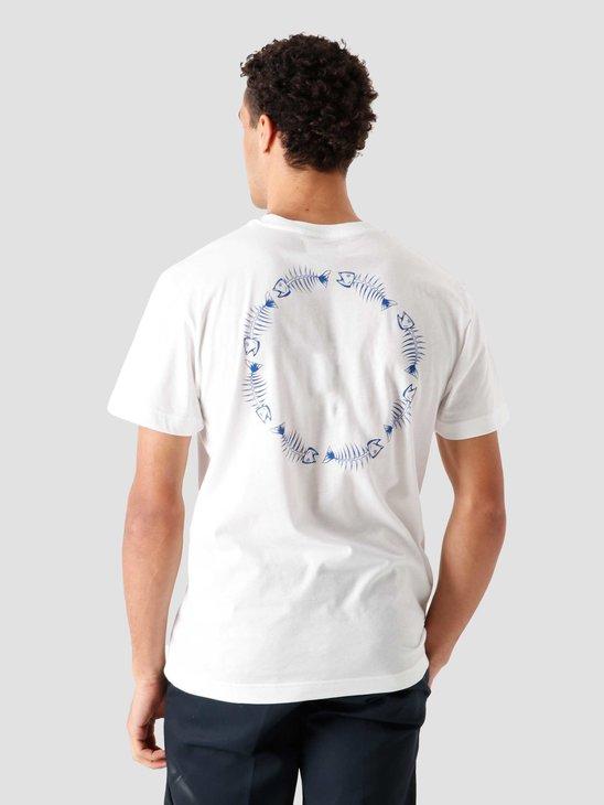 Libertine Libertine Beat Circle T-Shirt White 1868