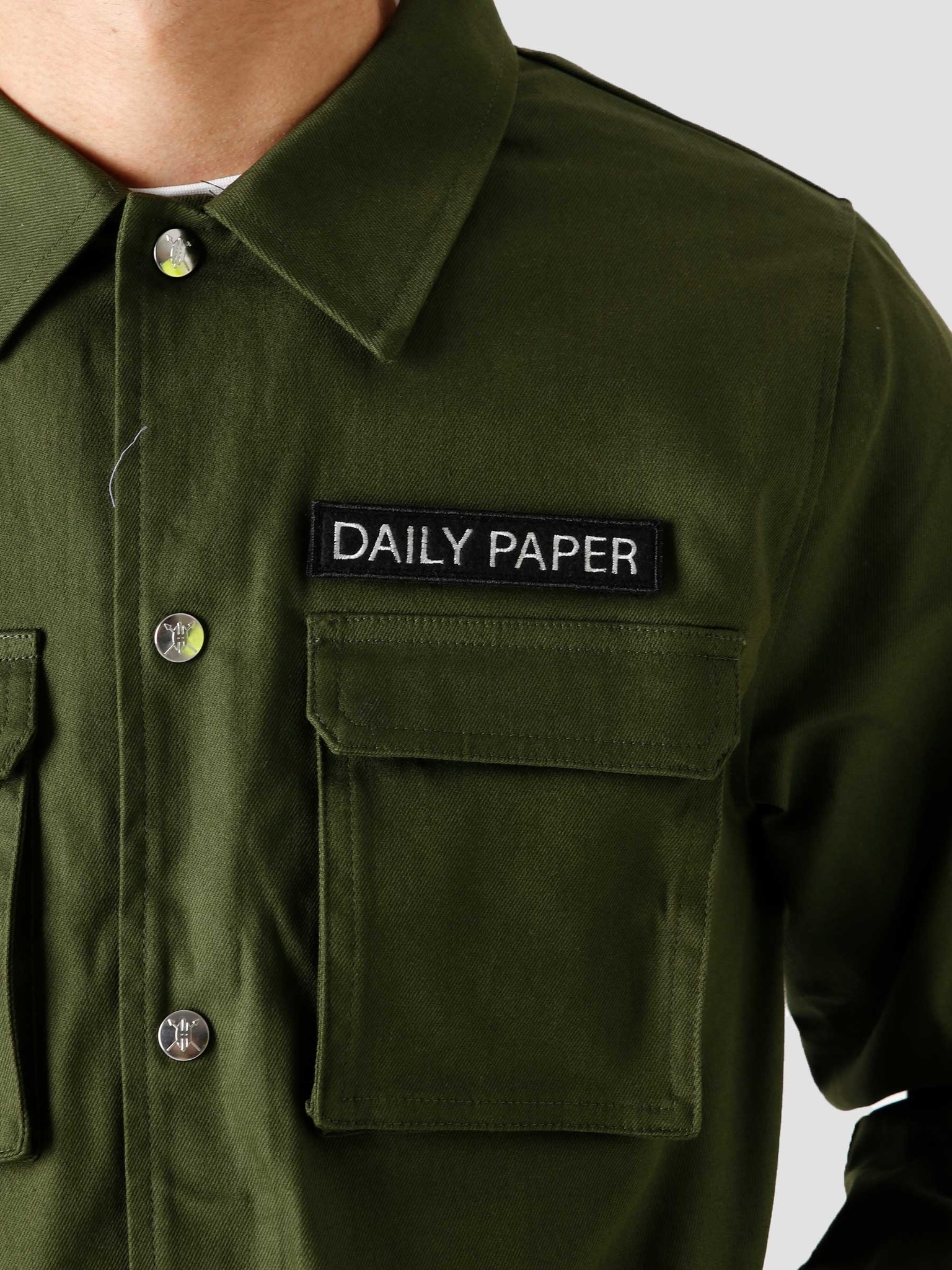 Daily Paper Daily Paper Coach Jacket Green 00N1PA05-04