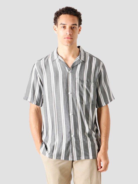Carhartt WIP SS Foley Shirt Foley Stripe Black I028941-8990