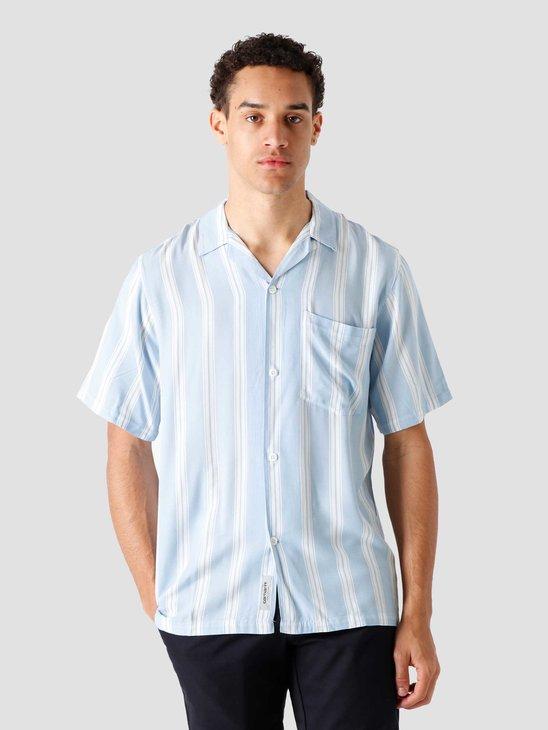 Carhartt WIP SS Foley Shirt Foley Stripe Wave I028941-WV90