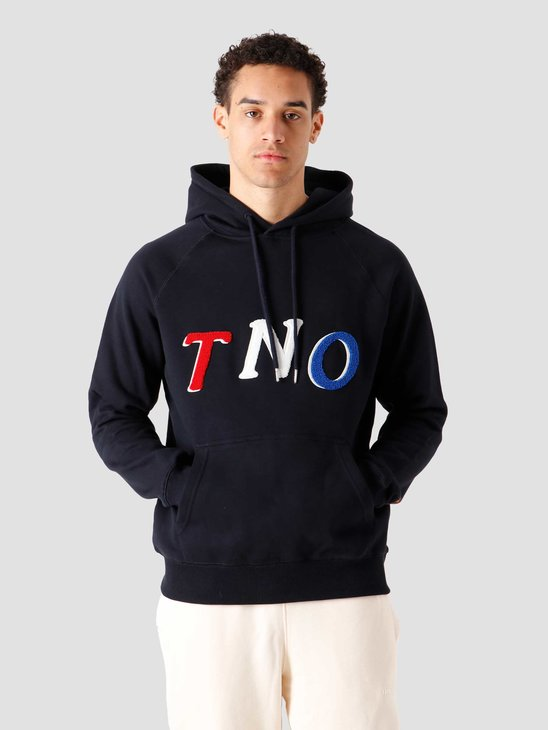 The New Originals Fabric Hoodie Navy