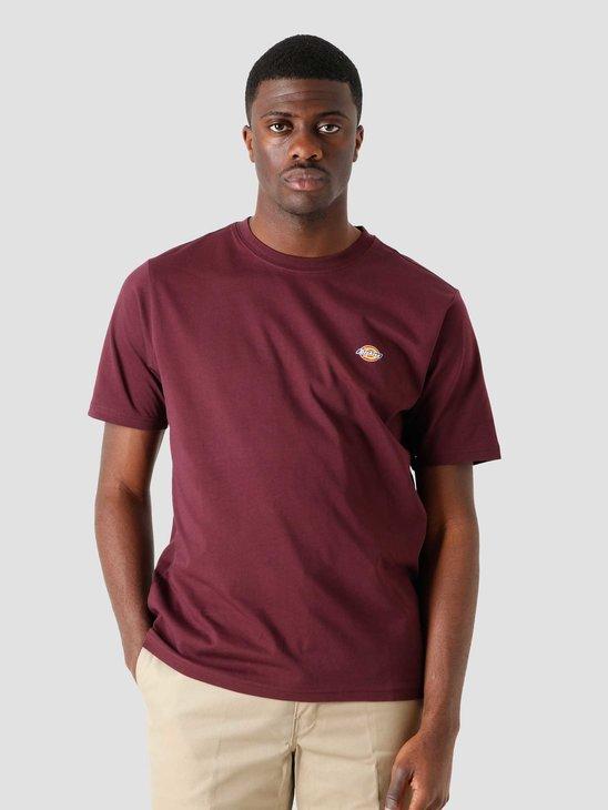 Dickies Ss Mapleton T-Shirt Maroon DK0A4XDBMR01
