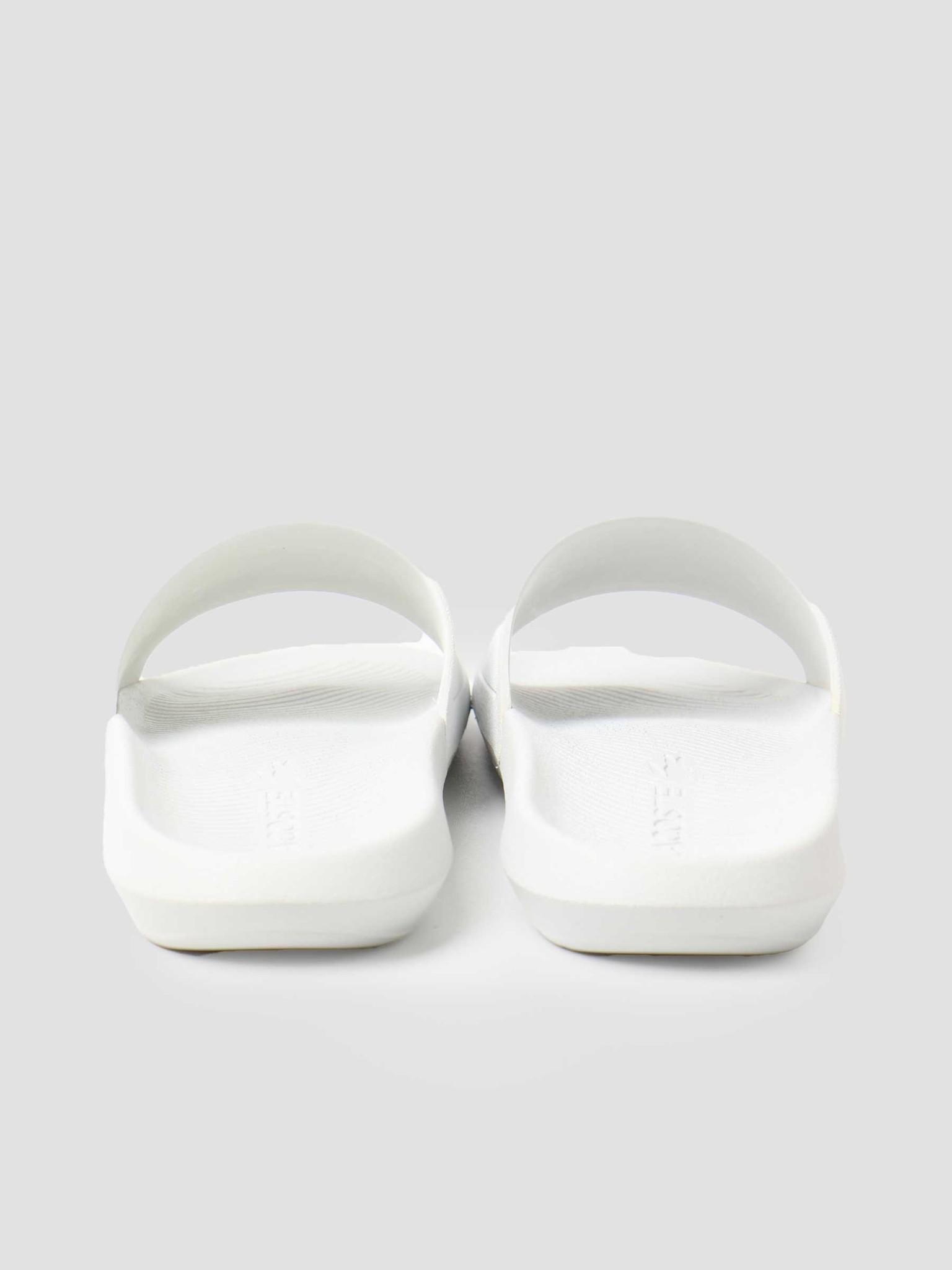 Lacoste Lacoste Croco Slide 119 1 Cma White Green 737CMA001808211