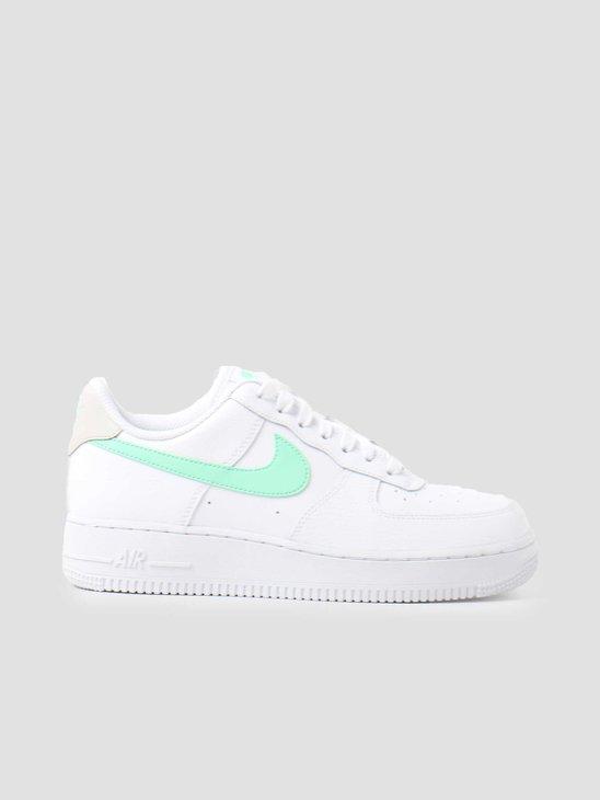 Nike Wmns Air Force 1 '07 White Green Glow Light Bone White 315115-164