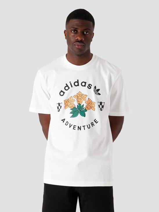 adidas Flowers T-Shirt White GN2371