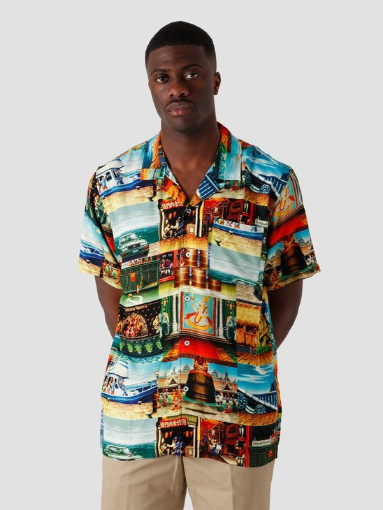 HUF Stages Resort Shirt Multi BU00123