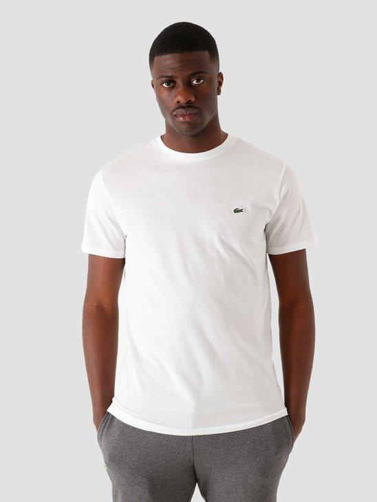 Lacoste 1HT1 Men's T-Shirt White TH6709-11