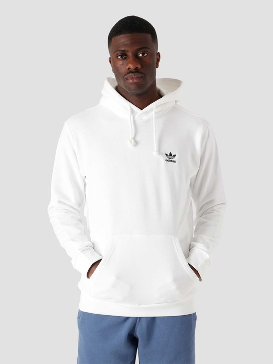 adidas Essential Hoodie White Black GP0931